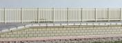 Ratio 432 SR Precast Concrete Pale Fencing