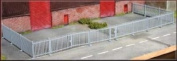 Knightwing Model Railway Security Fencing with Gates - OO Gauge Plastic Kit