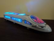 Euro Train Flash Electric Sound Light Model Europe Train
