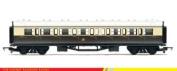 Hornby 00 Gauge RailRoad GWR Composite Coach Model