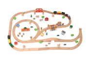 Tidlo Wooden Train Set