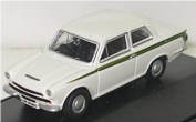 Oxford Diecast Ford Cortina MkI in White - 1/76 Diecast Model
