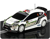 Scalextric Ford Fiesta Rs Wrc Super Resistant 1:32 Scale Slot Car