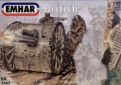 Emhar 1/35 WWI British Artillery # 3502
