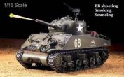 Heng Long Sherman M4A3 1:16 Scale RC battle Tank --- 2013 Heng long latest Big Boyz®