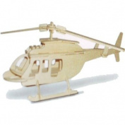 Bell 206 - Woodcraft Construction Kit