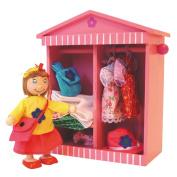 Bigjigs Toys BJ763 Daisy's Wardrobe