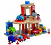 Santoys - Wooden Toys - Car Service Centre