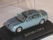 Jaguar S-type R Grau Grey 1/72 Yatming Yat Ming Modellauto Model Auto