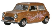 oxford gold concratulations mini car 1.43 scale diecast model