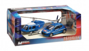 Mondo Motors 57007 France Safety Peugeot 207 and Helicopter Scale 1:43