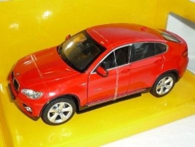BMW X6 X 6 Suv Rot 1/24 Rastar Modellauto Modell Auto