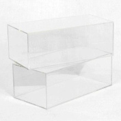 MULTI-PURPOSE COLLECTABLES DISPLAY CASE WITH MIRROR BACK