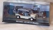 james bond 007 live and let die mini moke film scene car 1.43 scale diecast model
