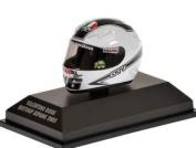 AGV Helmet (Valentino Rossi - MotoGP Sepang 2005) Diecast Model Helmet