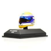 Schubert RF1 Helmet (Nico Rosberg 2008) (1:8 scale) Diecast Model Helmet