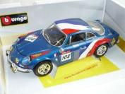 Renault Alpine A110 A 110 1600s 1600 S 1971 Blau Rally 1/18 Bburago Burago Modellauto Modell Auto
