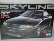 fits Nissan Skyline Gt-r Gtr R32 Coupe Schwarz 24090 Bausatz Kit 1/24 Tamiya Modellauto Modell Auto