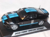 Ford Shelby Gt500 Gt-500 Mustang 2010 Schwarz 1/18 Shelby Collectibles Modellauto Modell Auto