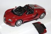 Bugatti Veyron Grand Sport 2010 Rot 1/18 Minichamps Modell Auto mit oder ohne individiuellem Wunschkennzeichen