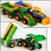 Polesie Wader Master Tractor with Trailer and Shovel