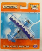 10cm Matchbox Sky Busters Missions - DUAL FORCE FIGHTER Plane