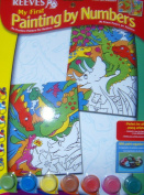 Reeves Painting by Numbers, Multicoloured, Dinosaurier ( 2-er Pack)