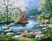 Bucilla 21692 Paint by Number, Japanese Garden