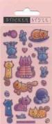 Craft Stickers Crafty Cats