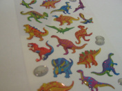 Dinosaur Stickers - Kids / Childrens Labels for party bags , scrap books , card making or notebook decoration