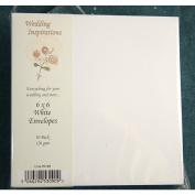 Square Envelopes, 15cm 120gsm White