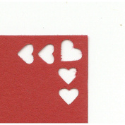 Woodware Craft Collection Button Corner Rounder Punch - Hearts