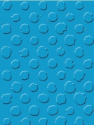Universal Embossing Folder - Grunge Dots, for Cuttlebug and other leading machines, 10.8x14cm