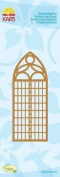Kars Embossing Stencil - Church Window, 13x5cm