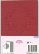 Pergamano Passe-Partout Cards - Red/Ivory #4108