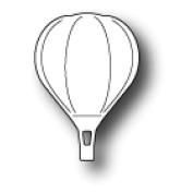 Memory Box Die - Mini Hot Air Balloon