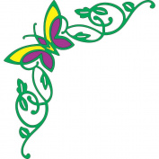 Cheery Lynn Designs B204 Butterfly Out Scrapbooking Die Cut