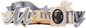 In Loving Memory Stacked Statement 3-D Title Sticker-
