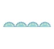 Sizzix Sizzlits Decorative Strip Die-Lace Scallop