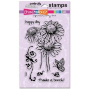 Stampendous Perfectly Clear Stamp Set, Daisy Thanks