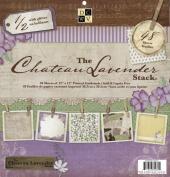 "Chateau Lavender Paper Stack 30cm X12""-48 Sheets"