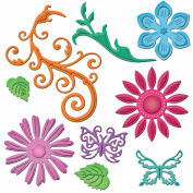 Spellbinders Shapeabilities Dies, Jewel Flowers And Flourishes