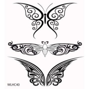 Clear stamp set Butterfly Selection