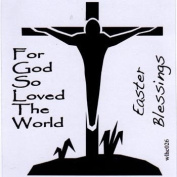 Clear stamp set For God So Loved the World