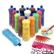 Scola Artmix Ready Mix Coloured Paint 12 x 600m