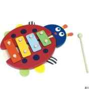 My 1st Xylophone - Cute Ladybird baby / toddler wooden xylophone