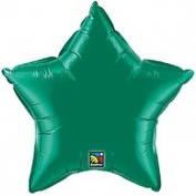 Star Foil Balloon - Green