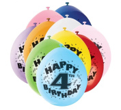Air Fill Only Balloons - Age 4