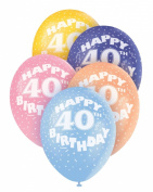 Helium Balloons - Age 40