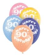 Helium Balloons - Age 90